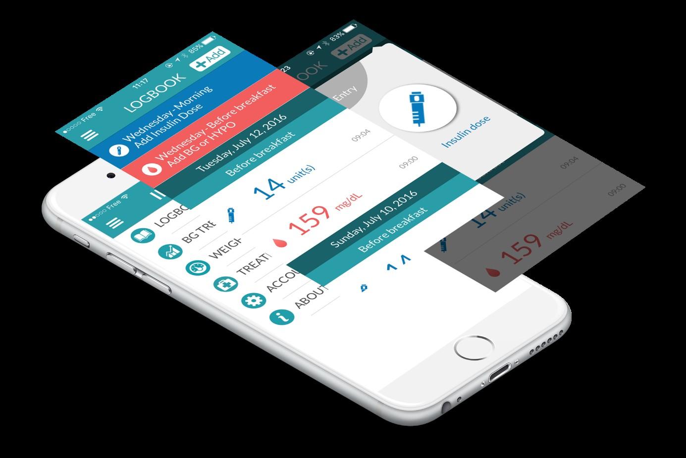 App Insulia - Selbstständiges Diabetesmanagement